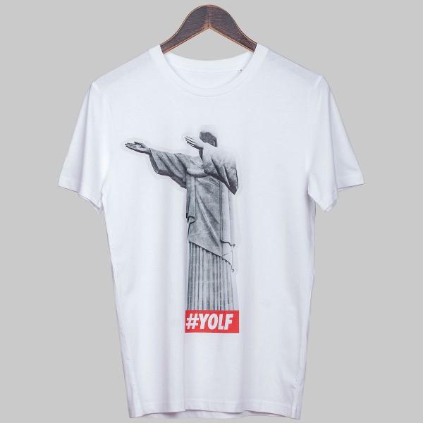 REDEEMER DAB, Unisex T-Shirt, white
