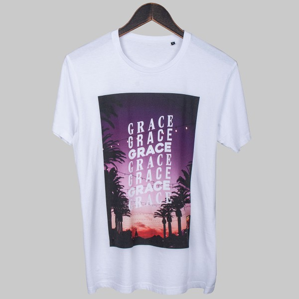 GRACE GRACE GRACE, Boys T-Shirt, white