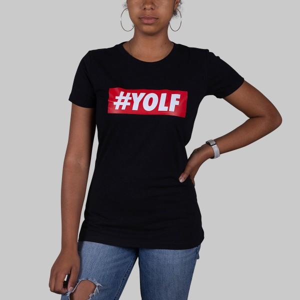 LOGO, Girls T-Shirt, schwarz