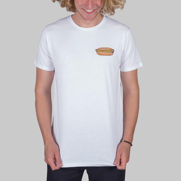 HOT DOG, Boys T-Shirt, weiß