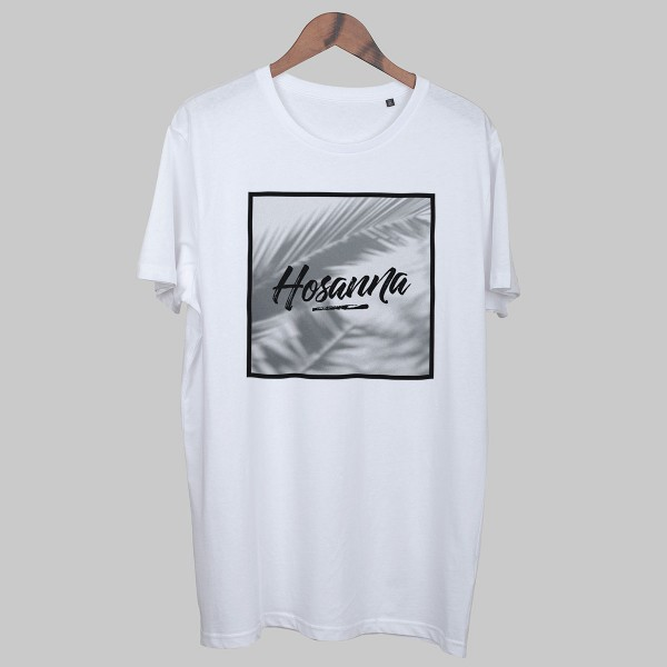 HOSANNA, Boys T-Shirt, white