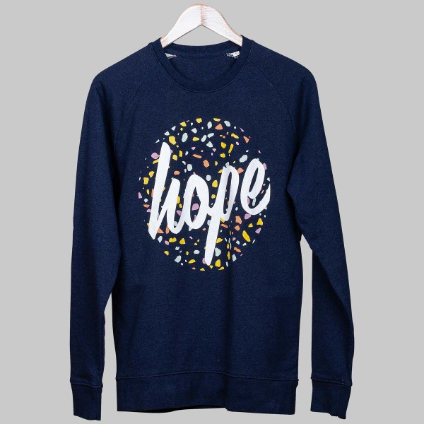 HOPE TERRAZZA, Unisex Sweater, french navy