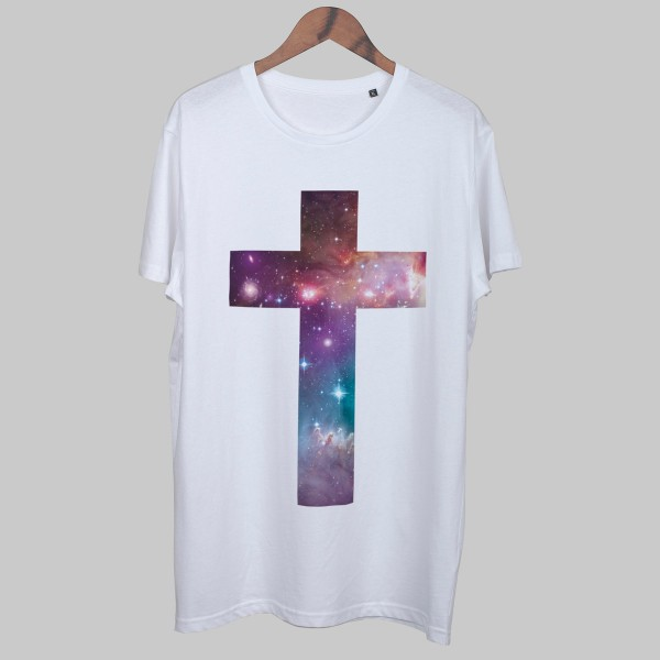 CROSS UNIVERSE, Boys T-Shirt, weiß