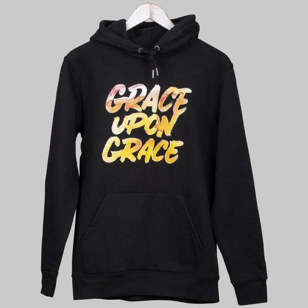 GRACE UPON GRACE, Unisex Hoodie, black
