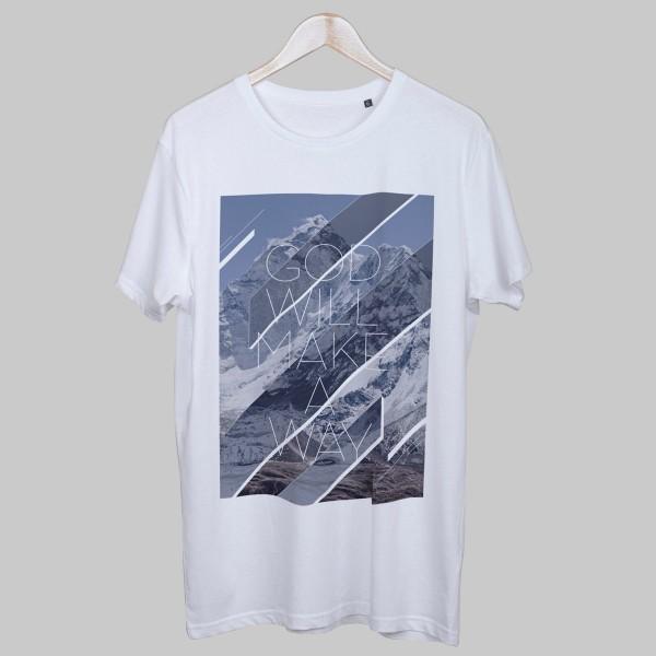 GOD WILL MAKE A WAY, Boys T-Shirt, weiß