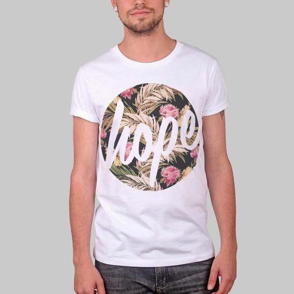 HOPE FLOWERS, Boys T-Shirt, white