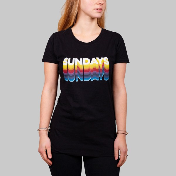 SUNDAYS, Girls T-Shirt, black