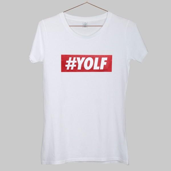 LOGO, Girls T-Shirt, weiß