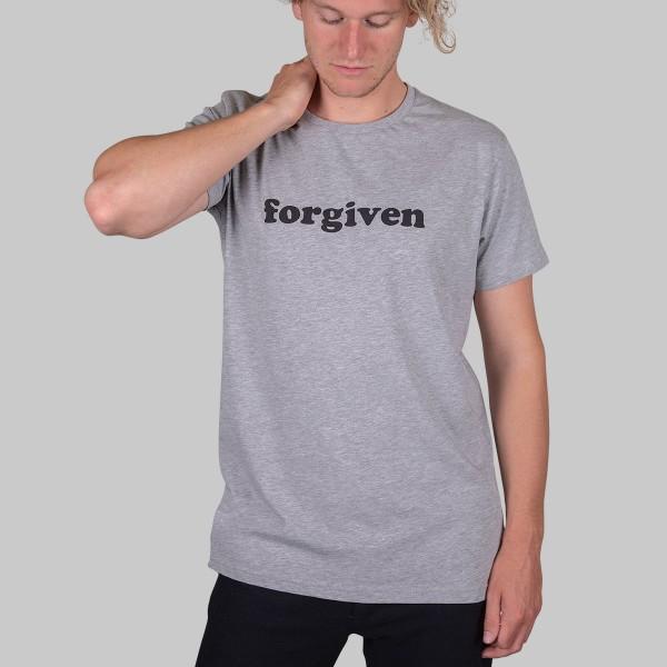 LOGO, Boys T-Shirt, grau meliert